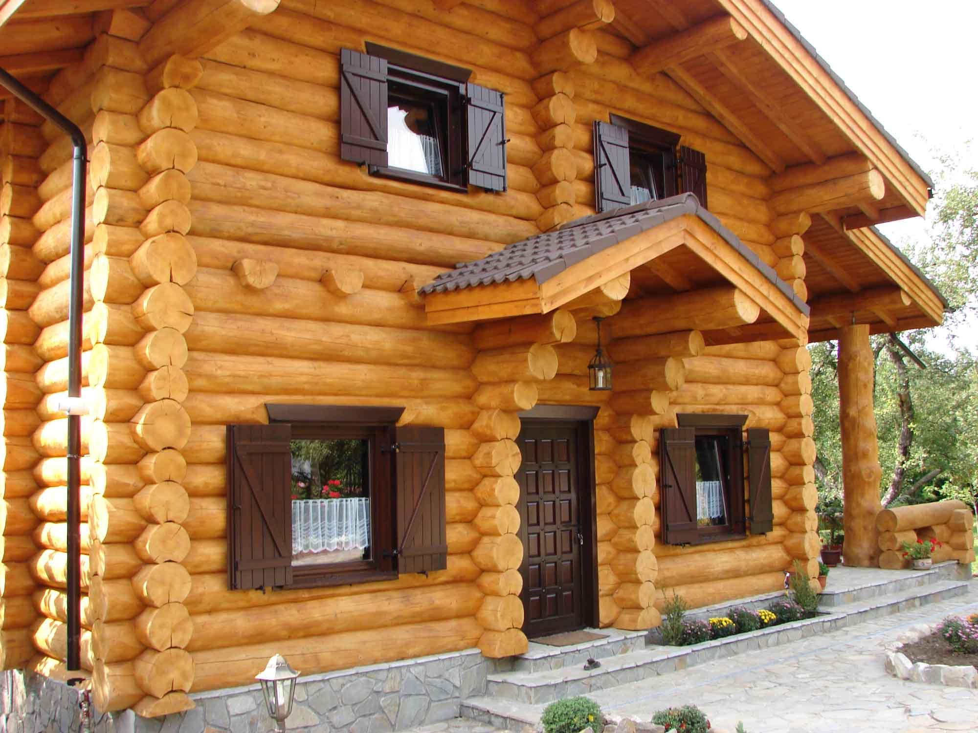 Maison en bois maison en bois for Maison en bois image